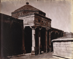 Central octagonal cell and colonnades of Sultan Ghari's Tomb, Delhi